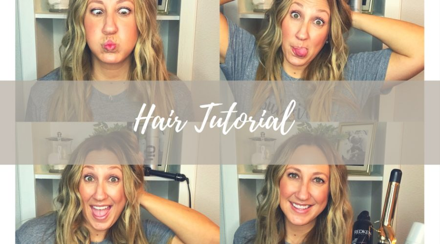 How do you do that? – Long, messy curls tutorial.
